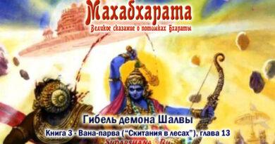 Махабхарата-Ванапарва-глава-013_Гибель демона Шалвы