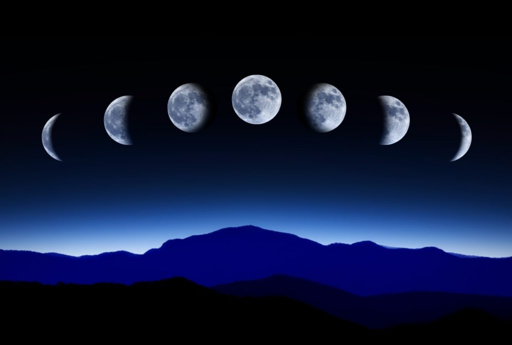 Лунные дни (титхи, фазы Луны)