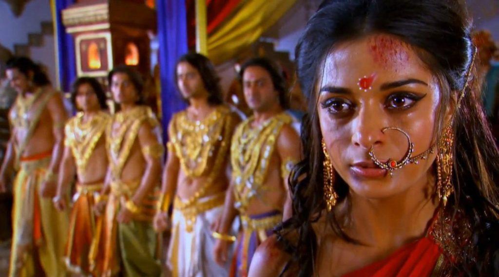 Драупади и Пандавы