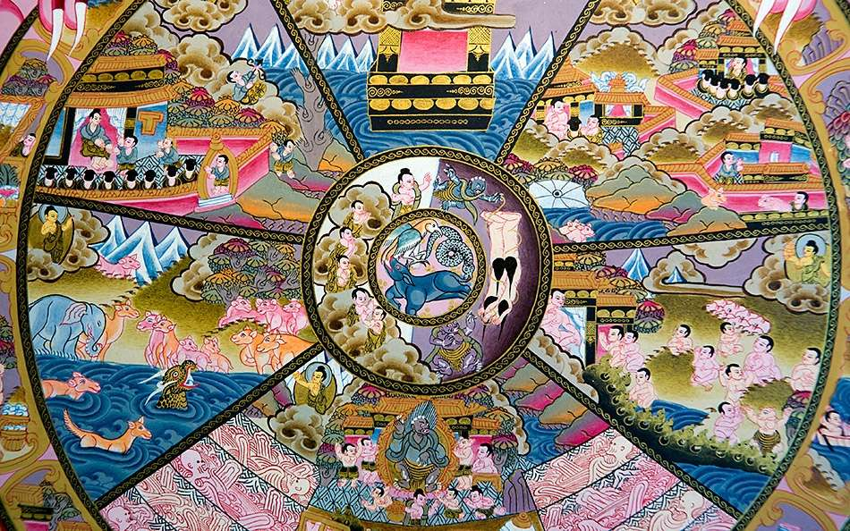 реинкарнация - колесо самсары
