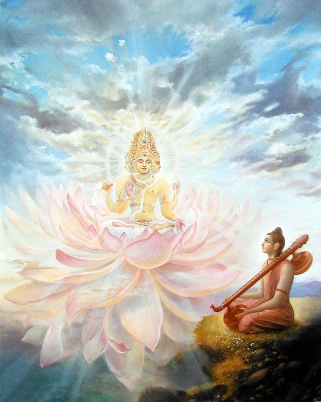Нарада Муни и Господь Брахма