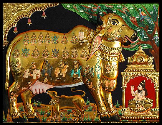 Махабхарата - Васиштха Муни и Камадхену