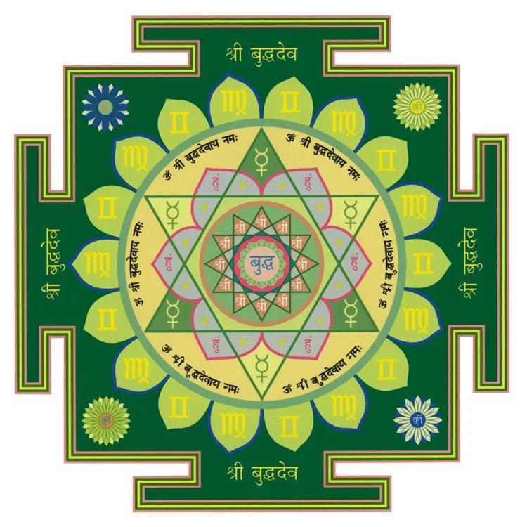 Буддха янтра - Меркурий