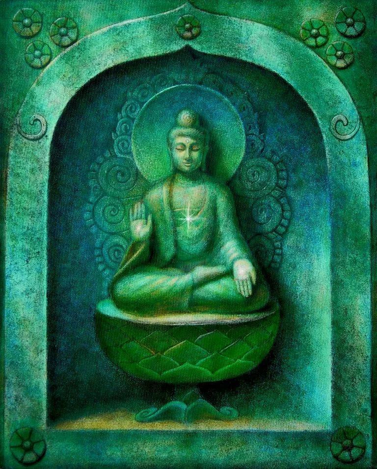 Меркурий - Буддха в медитации