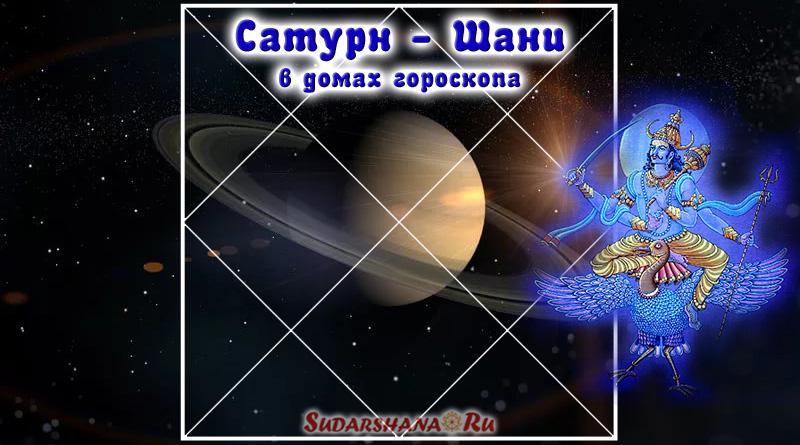 Шани - Сатурн в 12 домах гороскопа