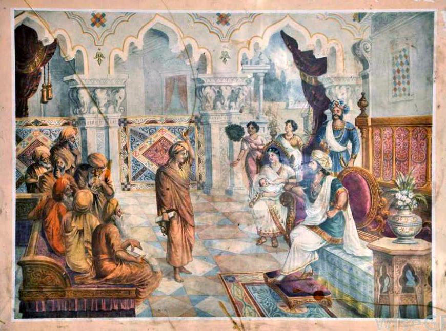 Брахманы дают советы царю