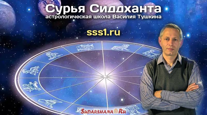 Астрологическая школа Василия Тушкина - Сурья Сиддханта