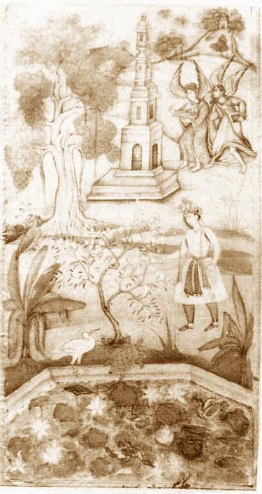 Махабхарата - царь Индрадьюмна спрашивает черепаху