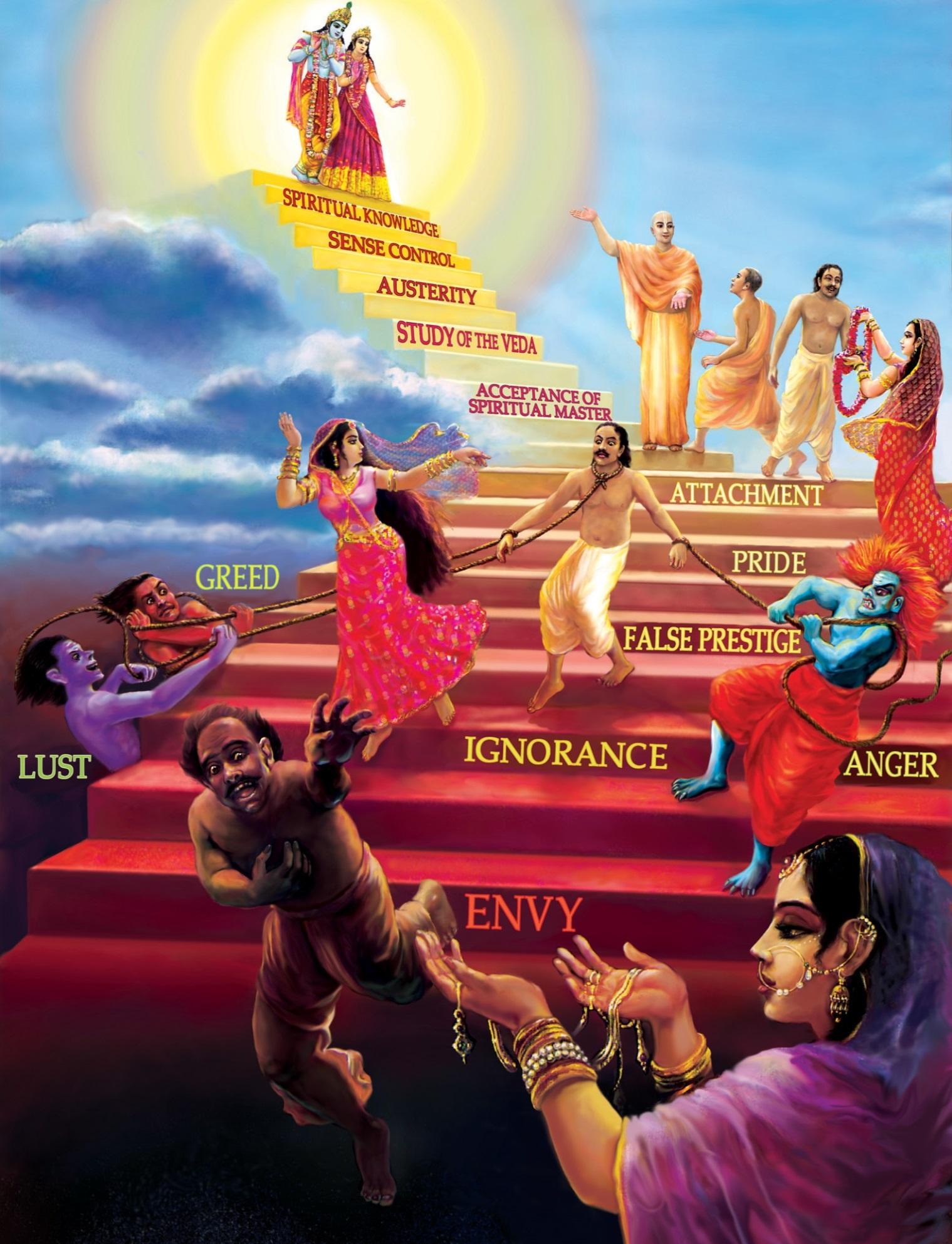 божественные и демонические качества