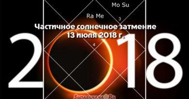 2018-07-13 - частичное солнечное затмение