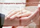 Как определить время вступления в брак по Навамше