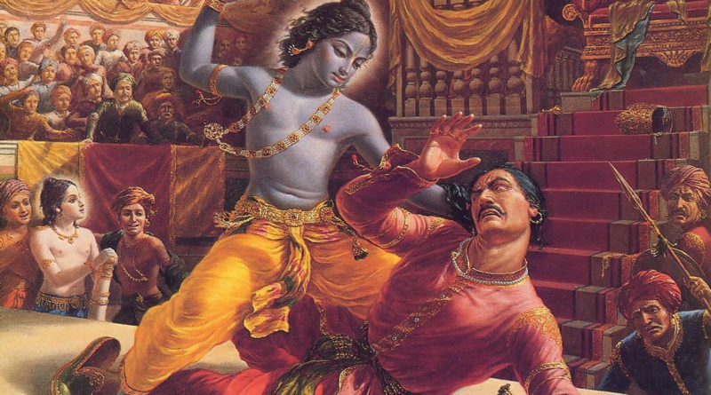 Кришна убивает Камсу